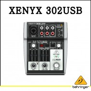 XENYX 302USB,오디오 인터페이스와 Xenyx 마이크 프리앰프,프리미엄 5입력,음악방송가능