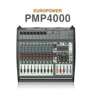PMP4000 /멀티FX프로세서 FBQ 피드백디텍션시스템이 탑재된 1600와트, 16채널 파워믹서앰프