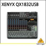 QX1832USB/프리미엄 18입력 3/2버스 믹서, 제닉스 마이크 프리앰프, 컴프레셔, KLARK TEKNIK 멀티 FX 프로세