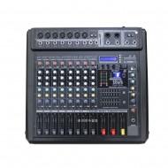PM-1200/파워믹서앰프/USB/SD Card/2x7밴드마스타이큐/9채널/펜텀/이펙터내장/1200와트