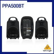 PPA500BT,블루투스,무선 마이크로폰 옵션,KLARK TEKNIK 멀티-FX 프로세서 & FBQ 피드백 디텍션이 탑재된 울트라 컴팩트 500와트,6채널 포터블 PA시스템