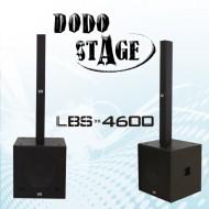 LBS-4600/DODO STAGE/Full Range Passive Speaker RMS 350와트,MAX 700와트/18인치 Subwoofe Passive Speaker RMS 800와트,MAX 3200와트,1조2개