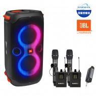 블루투스스피커 JBL PARTY BOX 110 생활방수 휴대용 160W + Bemax 4채널 무선마이크(핸드2개+핀2개)