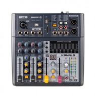 카날스 BKG-30 아날로그 3채널 이펙트내장 전문가용 오디오믹서